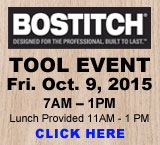 BOSTITCH Tool Event