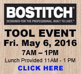 BOSTITCH Tool Event